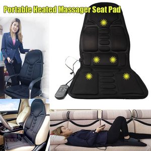 Portable Heated Massager Seat Pad