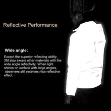 Load image into Gallery viewer, Reflective Unisex Waterproof Hooded Jacket