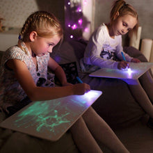 Load image into Gallery viewer, LED Developing Toy Drawing Board for Kids