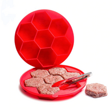 Load image into Gallery viewer, 7-Piece-6-Sided Hamburger Patty Maker