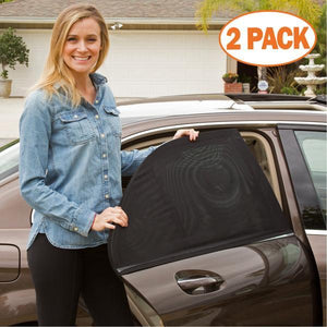 Car Window Sun Shade Curtain (Fit All Cars)