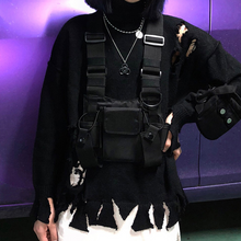 Load image into Gallery viewer, Tactical Streetwear Chest Bag