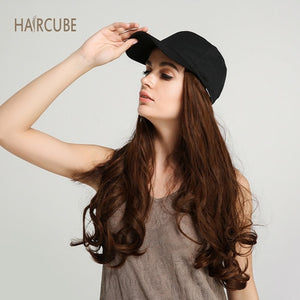 Clip-Free Instant Hair Extensions Cap