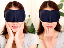 Load image into Gallery viewer, Softest Breathable Pitch Dark Sleeping Eye Mask