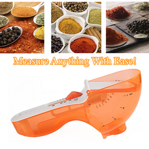 Adjustable Sliding Measuring Spoon