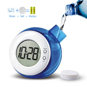 Eco-friendly Water Powered Digital Clock for Kids