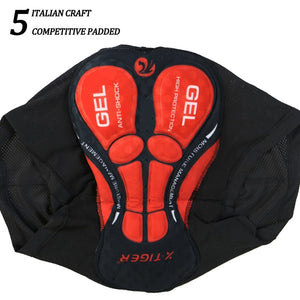 Men's 5D Gel Padded Cycling Underwear