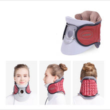 Load image into Gallery viewer, Red Edition Perfect Posture Medical Cervical Traction Device