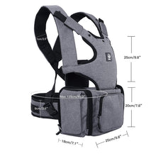 Load image into Gallery viewer, All in One Ergonomic Baby Carrier
