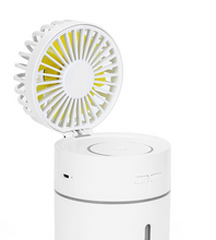Load image into Gallery viewer, USB LED Air Humidifier with Fan