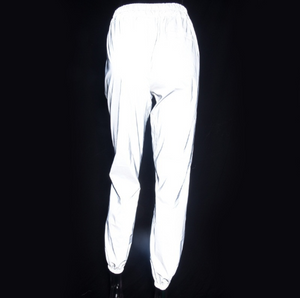 High Waist Light Reflective Pants