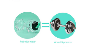 Dumbbell Shape Aqua Bottle
