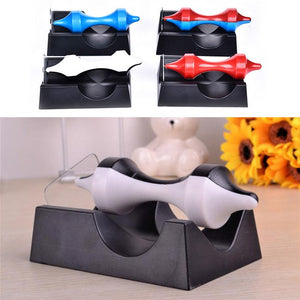 Anti-Anxiety Magnetic Self-Rotating Suspension Gyroscope