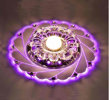 Load image into Gallery viewer, Magical Crystal Ceiling Light
