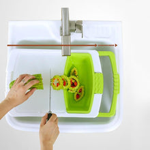 Load image into Gallery viewer, Multi-Function Sink Cutting Board