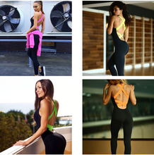 Load image into Gallery viewer, Backless Gym Tracksuit