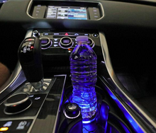Load image into Gallery viewer, LED Solar Anti-Slip Car Cup Mat