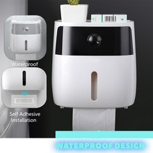 Load image into Gallery viewer, Multifunctional Toilet Paper Dispenser