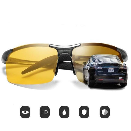2019 Day Night Photochromic Polarized Sunglasses