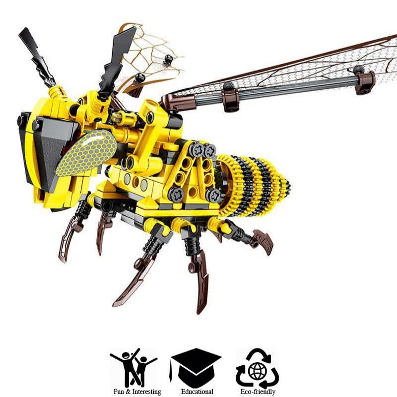 DIY Bumble Bee Building Blocks