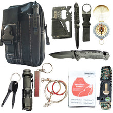 Load image into Gallery viewer, 12-in-1 Outdoor Survival Kit Set