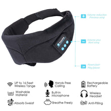 Load image into Gallery viewer, Wireless Music Bluetooth Relaxation Sleeping Eye Mask