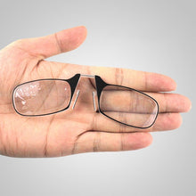 Load image into Gallery viewer, Portable Nose Clip Reading Glasses
