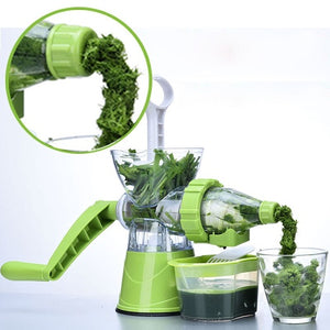 2-in-1 Manual Juicer & Ice Cream Machine