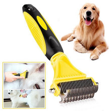 Load image into Gallery viewer, Deshedding Grooming Tool for Dogs and Cats