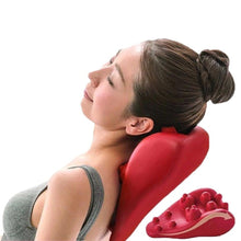 Load image into Gallery viewer, Japanese Shiatsu Spine & Cervical Massager Pillow