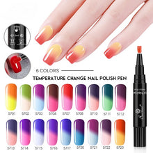 Load image into Gallery viewer, Color Changing One Step-Nail Art Gel Pen