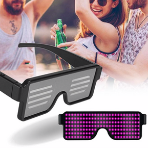 8 Mode Flashing LED Party Glasses