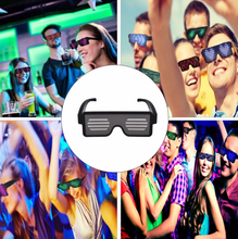 Load image into Gallery viewer, 8 Mode Flashing LED Party Glasses