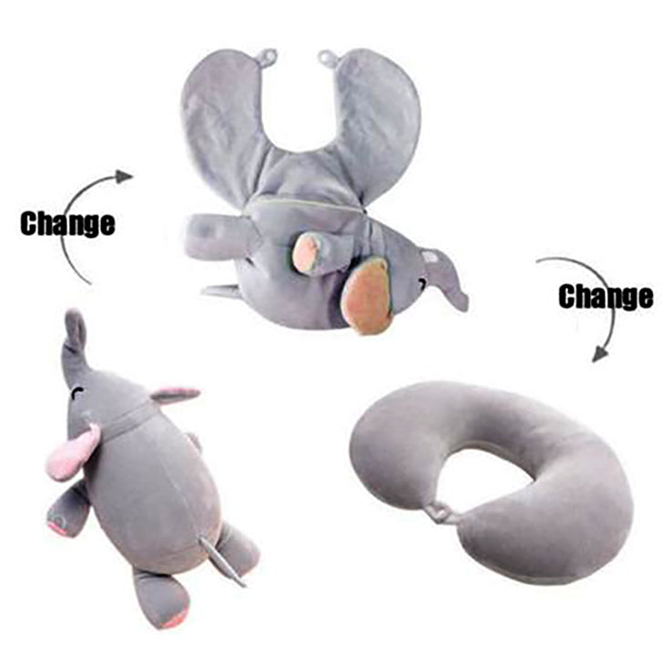 Travel Pillow Transform Stuffed Animal