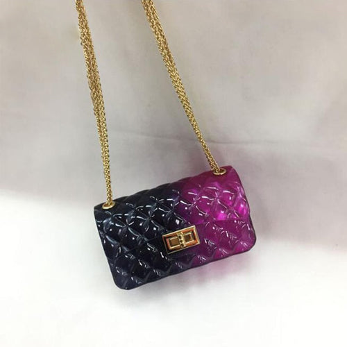 Transparent Jelly Hand Bag
