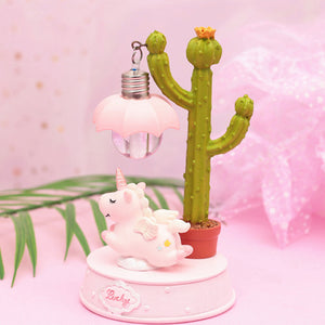 Fantasy Unicorn Night Light for Kids Room
