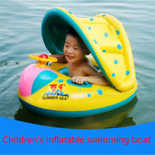 Load image into Gallery viewer, Kids Inflatable Swimming Shade Car
