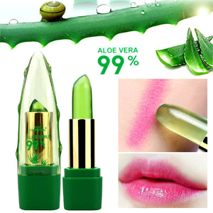 99% Natural Aloe Vera Temperature Color-Changing Lip Balm