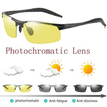 Load image into Gallery viewer, 2019 Day Night Photochromic Polarized Sunglasses