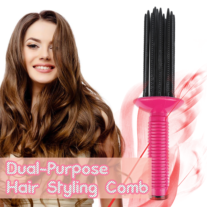 Dual-Purpose Hair Styling Comb