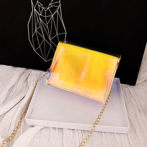 Transparent Crossbody Handbag