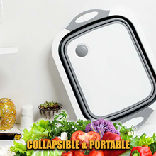 Load image into Gallery viewer, 3-in-1 Foldable Kitchen Basket with Draining Plug