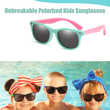 Load image into Gallery viewer, Unbreakable Polarized Kids Sunglasses