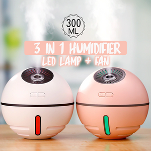 3-in-1 Portable LED Air Humidifier