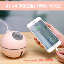 Load image into Gallery viewer, 3-in-1 Portable LED Air Humidifier