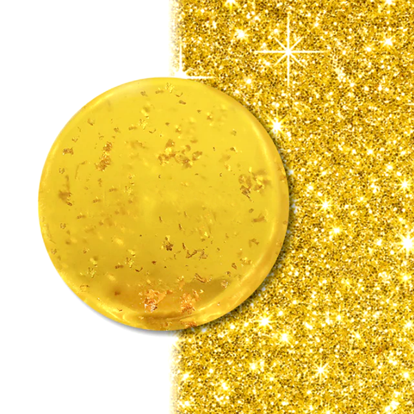 24K Gold Natural Deep Cleansing Facial Whitening Soap