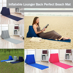 Inflatable Lounger Back Perfect Beach Mat