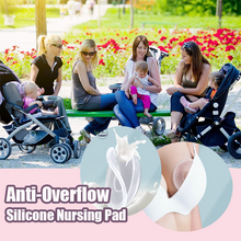 Load image into Gallery viewer, Anti-Overflow Silicone Nursing Pads (Set of 2)