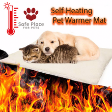 Load image into Gallery viewer, Self-Heating Pet Warmer Mat