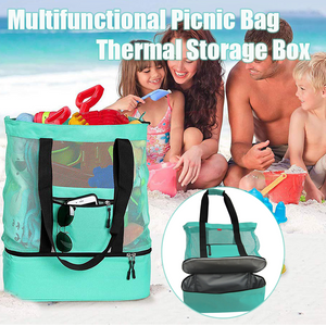 Multifunctional Picnic Bag with Thermal Storage Box